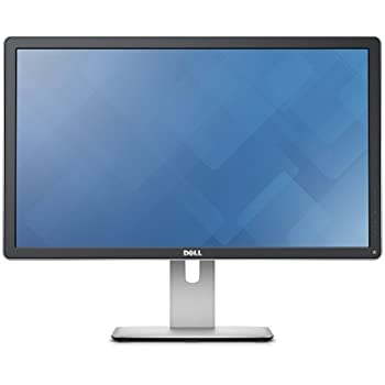 Dell LED 24 UP2414Q 4K - Monitor Ultra HD Pivot, 2Mio:1, 350cd/m², 8ms, HDMI, DP, colore: Nero