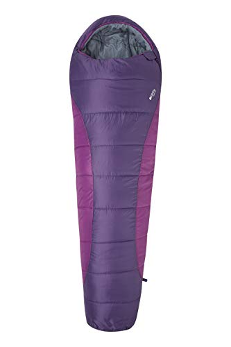 Mountain Warehouse Saco de dormir Summit 250 Color baya Right Handed Zip