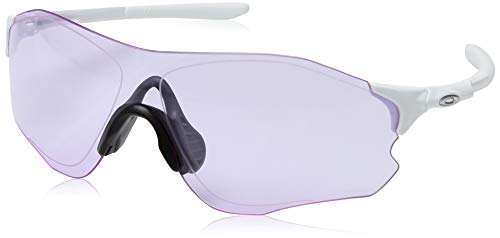 Oakley Herren Evzero Path 930821 Sonnenbrille, Grau (Polished White), 40