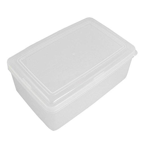 Plastique rectangulaire à micro-alimentaire Storage Container 2.4 Litre