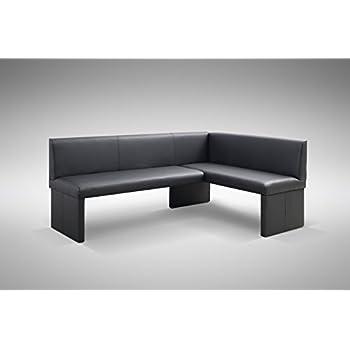 Eckbank modern leder  Design Eckbank Otto modern Kunstleder schwarz - Links: Amazon.de ...