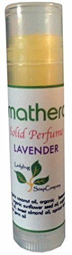 aromatherapy-organic-natural-handmade-solid-perfume-02-oz-chapstick-size-tube-lavender-essentail-oil