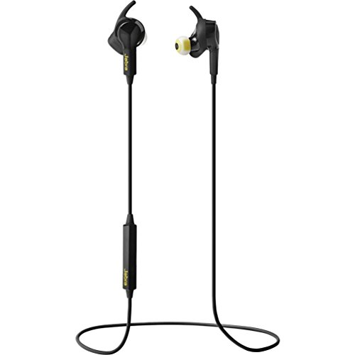 Jabra Japulse Sport Pulse Auricolari Stereo di Tipo In-Ear, Wireless, Bluetooth 4.0, Vivavoce, Controllo Vocale in Italiano, Nero