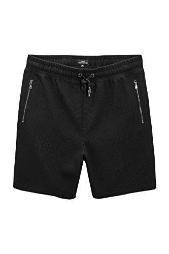 next Herren Strukturierte Jersey-Shorts Normale Passform Black XXXL