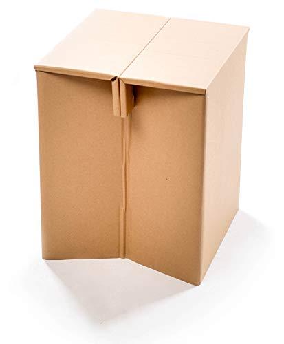 Preisvergleich Produktbild Papphocker aus Karton,  einfach & multifunktional benutzbar / Recyclebar & Umweltfreundlich – Wie gemacht für Wohnzimmer,  Garten,  Arbeitszimmer,  Kinderzimmer oder Studenten-WG (Sitzhöhe 43cm)