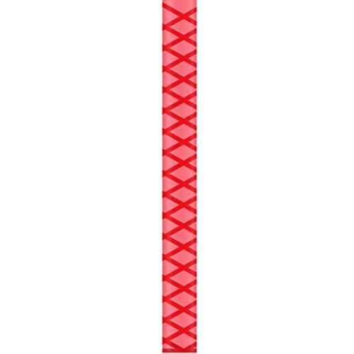longyitrade Wasserdichte Anti-Rutsch-Schrumpfschlauch für Angelrute Schläger Griff Hanteln, rot, 35 mm -