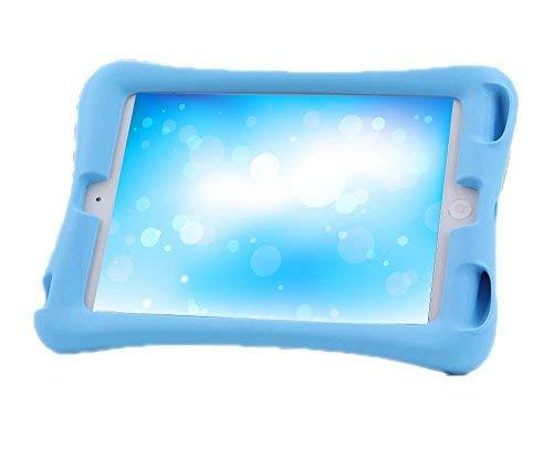 NEWSTYLE Ipad mini 3/2/1 Kinder Silikon Hülle Schutzhülle Tasche Case Superleichte Stoßfeste Schutzhülle Tasche - Blau (Mini Ipad Schutzhülle)