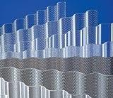 Acryl - Lichtplatten - Profil 177/51 Sinus (Welle) * 3,0 mm Stärke * glatt klar * (Euro 27,90 m²) schlagzäh und hoch bruchsicher - Lichtdurchlässigkeit: 88% * glatte, porenfreie Oberfläche und Innenseite - Breite: 920 mm - Nutzbreite: 873 mm * Herstellergarantie: 30 Jahre auch Witterungs- und Lichtbeständigkeit, Hagelschlag bis 20 mm Körnung. Sie erreichen uns auch an Wochenenden u. Feiertagen: 02153 911668 - email: bb-kunststoffe@t-online.de