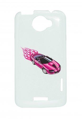 Smartphone Case Pink Cabrio con Coolen fiamme America Amy USA Auto Car lusso larghezza Bau V8V12Motore cerchione Tuning Mustang Cobra per Apple Iphone 4/4S, 5/5S, 5C, 6/6S, 7& Sams