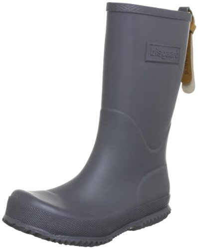 Bisgaard 92001999, Bottes de pluie mixte enfant Gris (70 Grey)