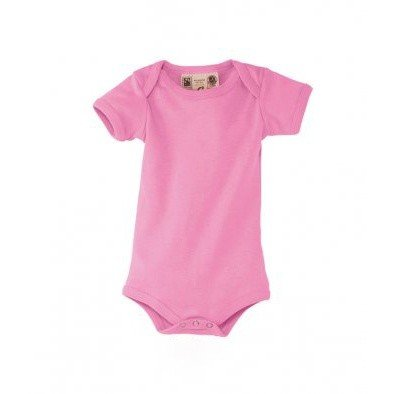 SOLS Baby Organic Cotton Bambino Short Sleeve Bodysuit (3-6 Months) (Orchid Pink)  available at amazon for Rs.1412