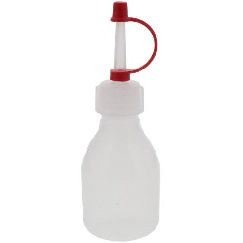 24 x 30ml Spritzflasche rund natur aus LDPE inkl. Tropferverschluss mit Halteband und Kappe rot *** Laborflasche, Enghals, Spritzerflasche, Plastikflasche, Kunststoffflasche, Plastikflaschen, Kunststoffflaschen, Spritzerflaschen, Laborflaschen, Enghalsflaschen ***