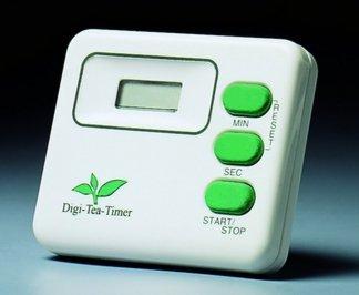 Digital-Tea-Timer / Teeuhr weiß - zur Teezubereitung