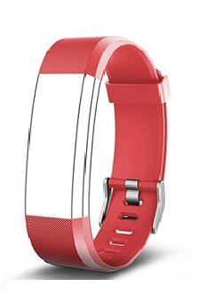 OMNiXTM ID115 Plus HR Strap (red)