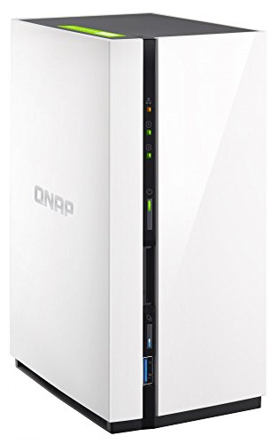Qnap 2-Bay Personal Cloud NAS with DLNA, Mobile Apps & AirPlay Support (TS-228-US)