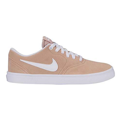 White Nike Sb (Nike Wmns Nike Sb Check Solar - rose gold/white, Größe:10)