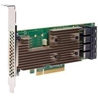 Broadcom 05-25703-00 SAS 9305-16i Speicher-Controller - Plug-in-Karte - Low-Profile Braun/Grün