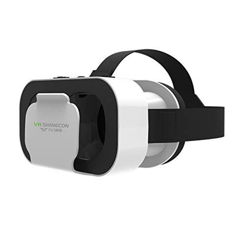 Intelligente 3D-Brille Movie Game Kopfhalterung Virtual Reality Brille 300 Zoll-Anzeige für MP3 AVI WMA für Kinder & Erwachsene