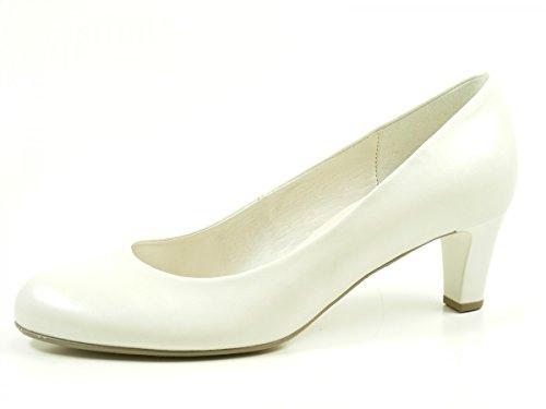 Gabor Shoes Gabor Basic, Scarpe con Tacco Donna Bianco (Off-white+absatz)