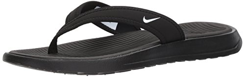 NIKE Women's Ultra Celso Thong Black/White Size 6 M US Nike Womens Thongs