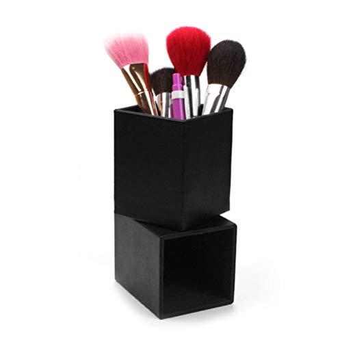 TOPBATHY Platz Makeup Box Makeup Barrel Aufbewahrungsbox Kosmetische Werkzeuge Aufbewahrungsbehälter Schwarz