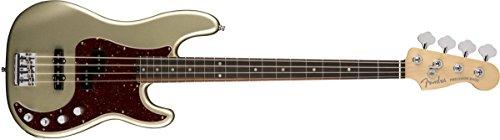 Fender American Elite Precision Bass - Champagne American Champagne