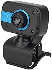 Portable HD Webcam 480P 30fps Camera with Mount Clip Built-in Microphone Notebook Laptop PC Desktop Computer W