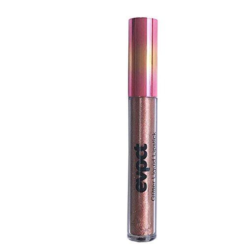 Lipgloss,Rabatt,PorLous 2019 Beliebt Mode Lippenlippenstift Kosmetik Frauen Sexy Wasserdichte Lippen Metallic Lipgloss Feuchtigkeitsspendend 14