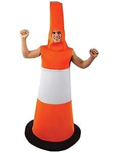 Déguisement Adulte Costume Unisexe Cône de Signalisation