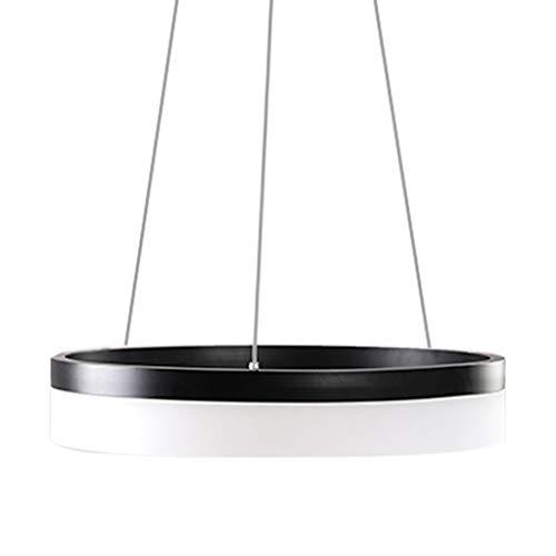 LSXLSD Moderne Einfachheit Pendelleuchte Hohe Durchlässigkeit Lampenschirm Kronleuchter Runde Ringförmige Kreative Persönlichkeit Deckenleuchten, Für Schlafzimmer Restaurant Milch Tee Shop Bekleidungs (Insel-bekleidung)