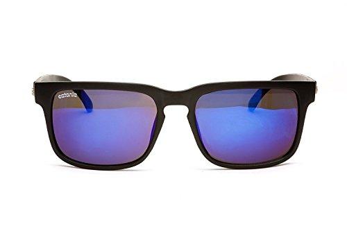 Catania Occhiali Sonnenbrille (Mit Etui)- Vintage Stil Retro Unisex Brille - Limited Edition (UV400 - UVA, UVB)