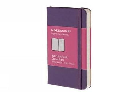Moleskine Ruled Notebook Carnet Ligne: Brilliant Violet Violet