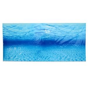 Pinzhi Blue Sea Ocean Fish Tank Acuario fondo Seascape