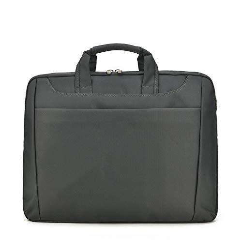 ZHAIFENGFENG1 15-Zoll-Universal-Tablet-Tasche (Mens Briefcase Computer Bag) Einfarbig Business One-Shoulder-Aktentasche Messenger Bag,D,36 * 7 * 28cm -