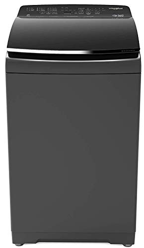 Whirlpool 7.5 kg Fully-Automatic Top Loading Washing Machine (360° BLOOMWASH PRO Heater 7.5, Graphite, In-built Heater)