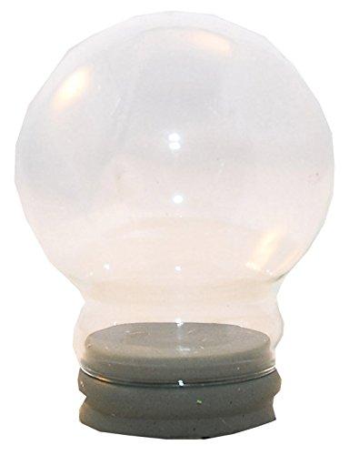65mm-Ersatzglas/Bastelglas für Schneekugel - 40001