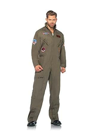 Leg Avenue Top Gun Flight Suit Costume