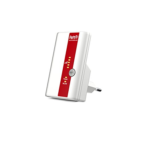 Foto AVM FRITZ! WLAN Repeater 310 International Range Extender Universale Wireless N, 300 Mbit/s, WPS, Compatibile con Modem Fibra e ADSL