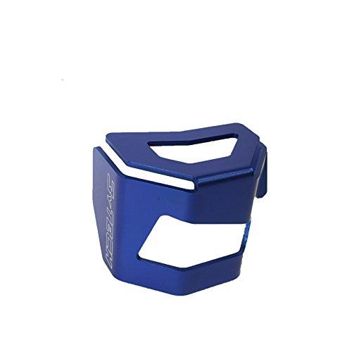 Mytech - Protection Réservoir Huile Frein arrière - anodisé bleu pour bMW r 1200 gS/BMW R 1200 GS Adventure refroidissement à air