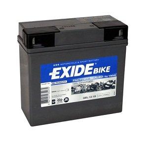 Exide - Batteria da moto Exide Gel 12-19, 12 V, 19 Ah