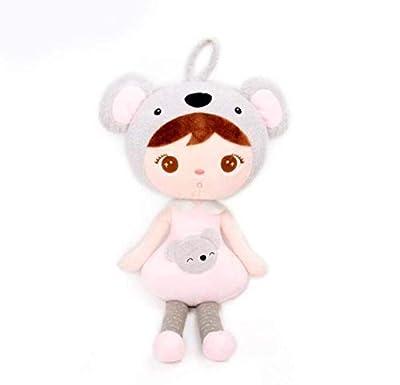 WYBL Muñeca Mini Felpa Dulce Lindo Lindo Mochila Llena Colgante Niño Niño Juguete Niña Cumpleaños Koala Sombrero por WYBL