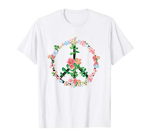 Peace Love Hippie Kostüm Tie Dye 60er 70er Jahre (Tie Dye Hippie Kostüm)