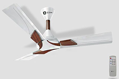 Orient Ceiling Fan Wendy Pearl White Walnut with Remote 1200 MM (48 Inch)