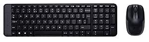 Logitech MK215 Wireless Combo Radio Transfer, PC/Mac, Keyboard