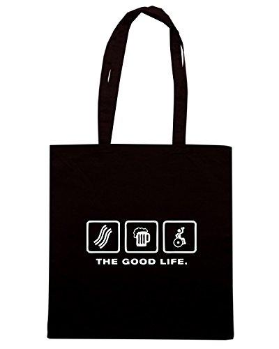 T-Shirtshock - Borsa Shopping TRUG0151 wheelchair rugby logo Nero