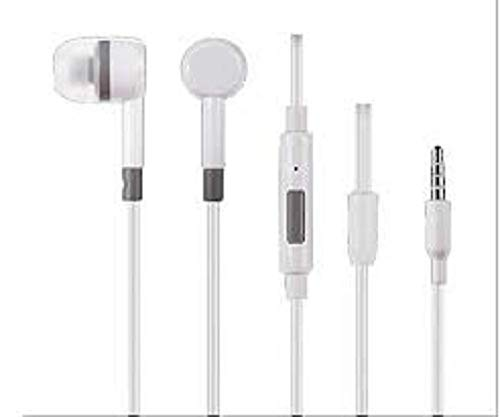 Amazing_Deal Earphones with Sound for Mi Phones (White) Image 2