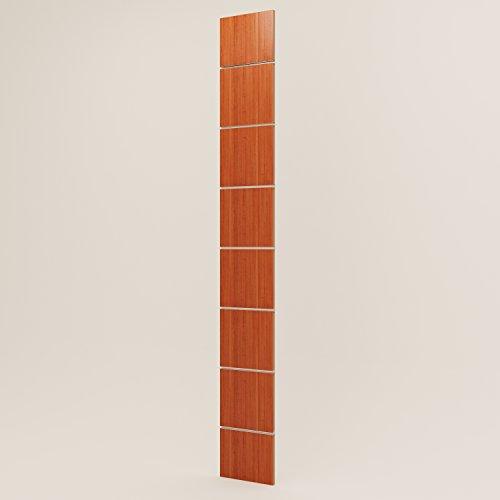 Panels DOGATO Kabine Möbel Kleiderschrank Geschäften Kirschbaum 30cm H 230cm
