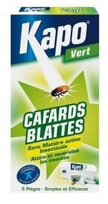 Pièges à cafards - lot de 5