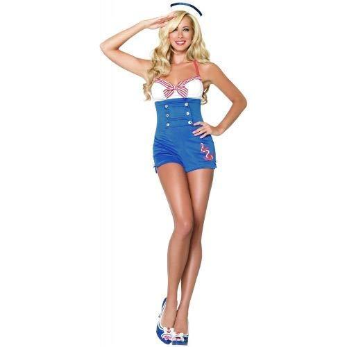 Matrosen Outfit Damen - Bodysocks® Matrose Kostüm für