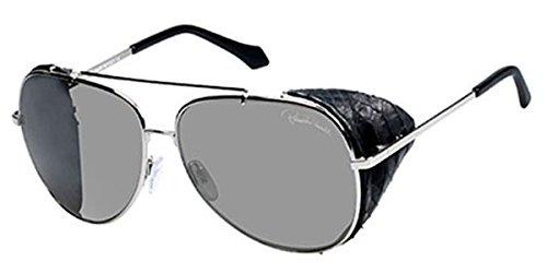 Roberto Cavalli Für Frau 856s Shiny Palladium / Smoke Mirror Metallgestell Sonnenbrillen